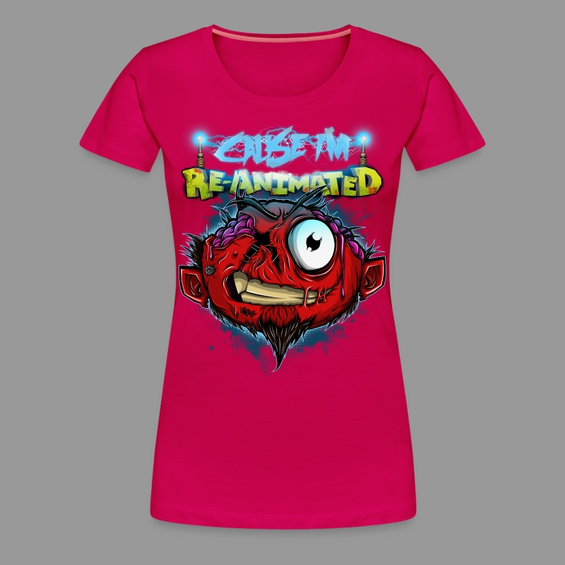 Premium Women's Re-animated Shirt - Women's Premium T-Shirt