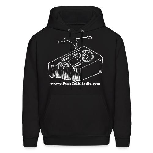 FTR Hoodie w/ White Logo & Web Address - Men's Hoodie