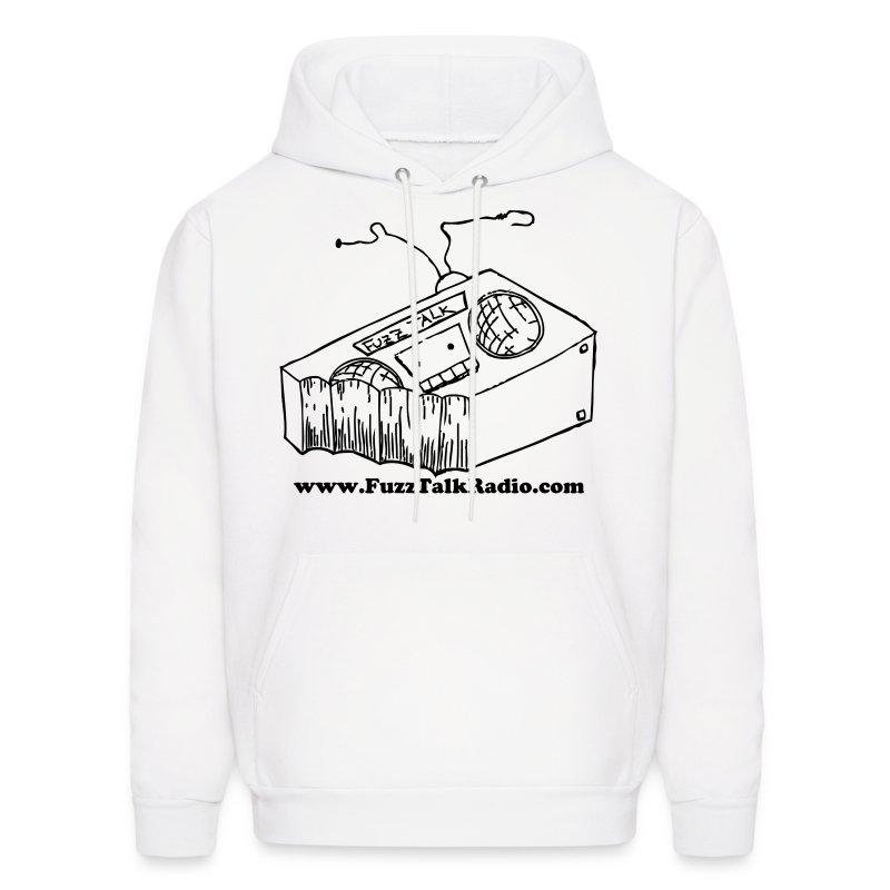 FTR Hoodie w/ Black Logo & Web Address - Men's Hoodie
