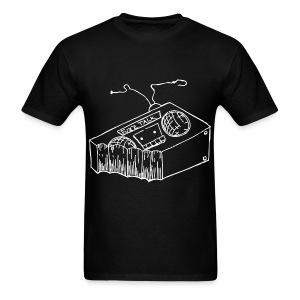 FTR Black Logo - Men's T-Shirt