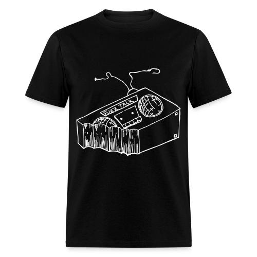 FTR Black Logo - Men's T-Shirt