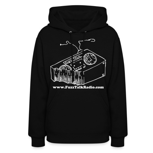 FTR White Logo w/ Web Address - Women's Hoodie
