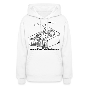 FTR Black Logo w/ Web Address - Women's Hoodie