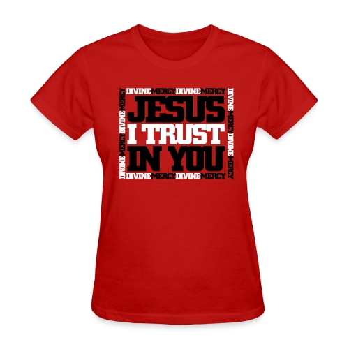 Divine Mercy Tee - Womens - Women's T-Shirt