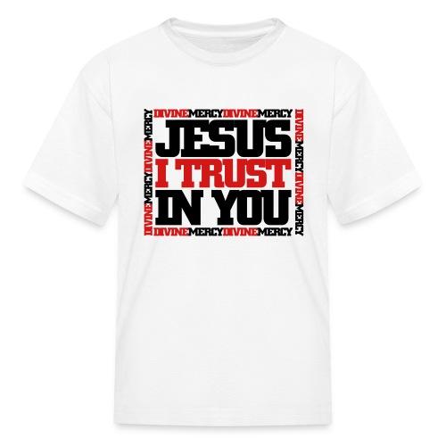 Divine Mercy Tee - Kids - Kids' T-Shirt