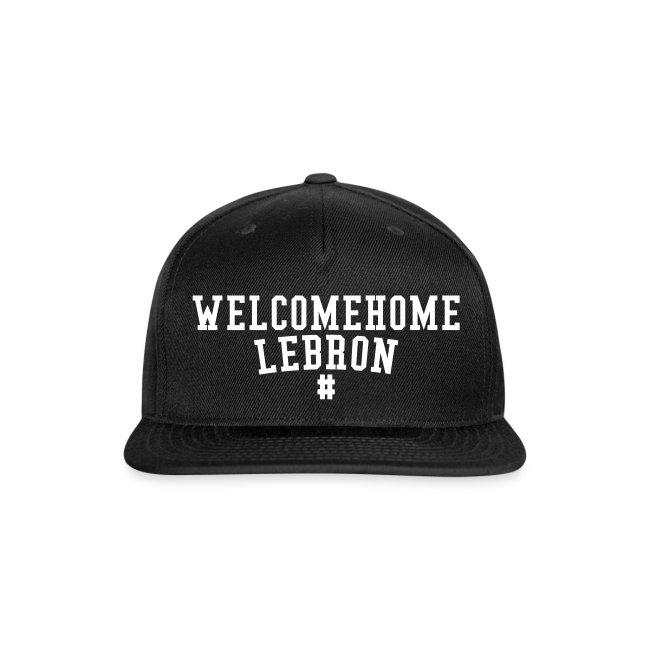 WELCOME HOME LEBRON JAMES SNAPBACK 2a7202bc856