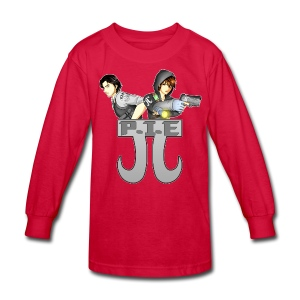 P.I.E. - Kids' Long Sleeve T-Shirt