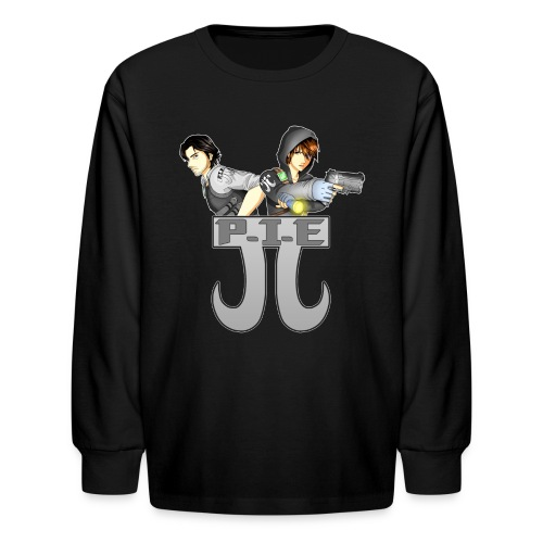 P.I.E. - Kids' Long Sleeve T-Shirt