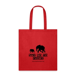 March for Elephants Bag - Tote Bag