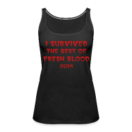 Tanks ~ Women's Premium Tank Top ~ I Survived Tank