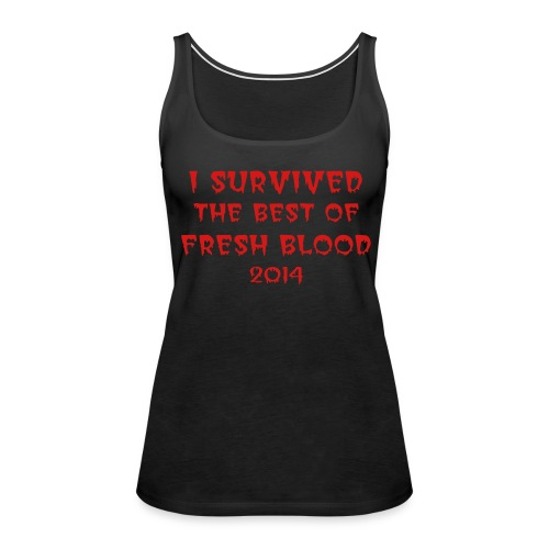 I Survived Tank - Women's Premium Tank Top