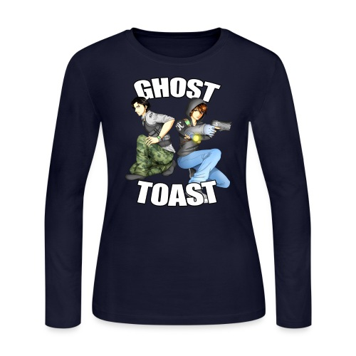 Ghost & Toast - Women's Long Sleeve Jersey T-Shirt