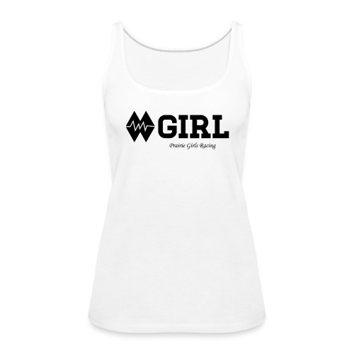 Double Black (Womens) - Women's Premium Tank Top