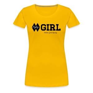 Double Black (Womens) - Women's Premium T-Shirt