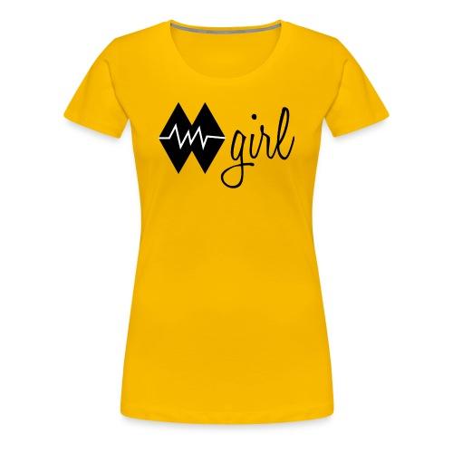 Double Black Diamond 2 (Womens) - Women's Premium T-Shirt