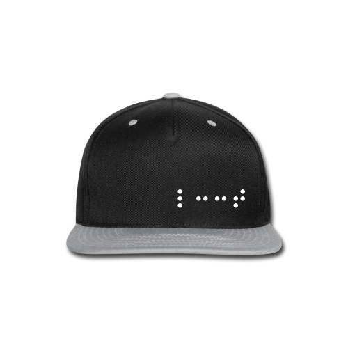 L33T Braille | Gamer Snapback - Snap-back Baseball Cap