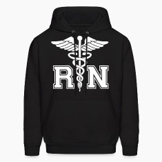 RN Registered Nurse Hoodies