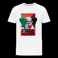 T-Shirts ~ Men's Premium T-Shirt ~ FREE PALESTINE