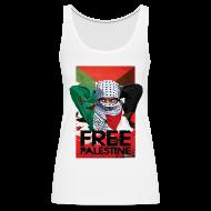 Tanks ~ Women's Premium Tank Top ~ FREE PALESTINE