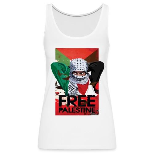 FREE PALESTINE - Women's Premium Tank Top