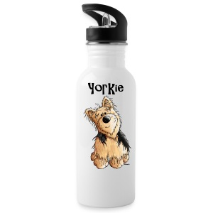 Sweet Yorkshire Terrier - Dog - Dogs Bottles & Mugs - Water Bottle
