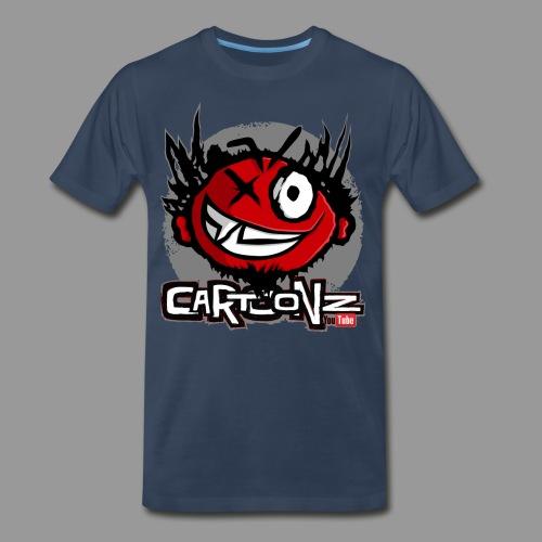 Premium Men's CaRtOoNz Logo Shirt - Men's Premium T-Shirt