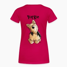 Sweet Yorkshire Terrier - Dog - Dogs Women's T-Shirts