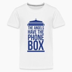 the angels have the phone box Kids' Shirts