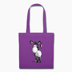 Happy Donkey - Horse - Animal Bags & backpacks