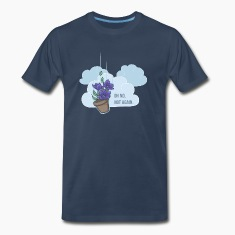 Thoughts of a falling bowl of petunias T-Shirts