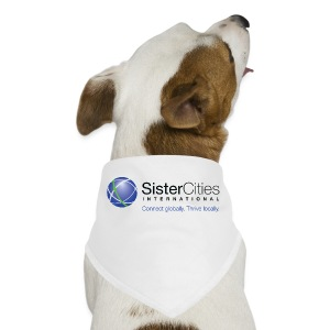 Dog Bandana w/ Sister Cities International COLOR Logo - Dog Bandana