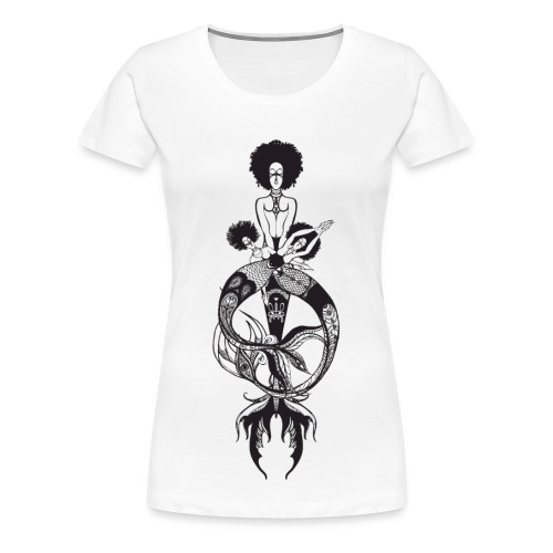 Mermaids Ladies' Tee - Women's Premium T-Shirt