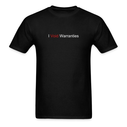 Warranties - Men's T-Shirt