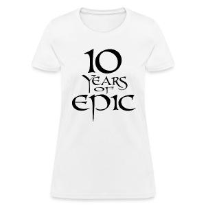 Women's 10th Anniversary Shirt - Women's T-Shirt