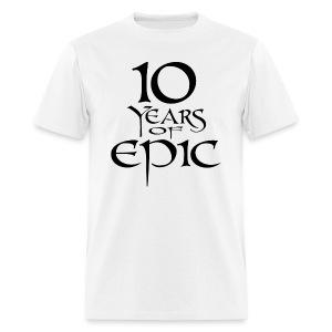 10th Anniversary Shirt - Men's T-Shirt