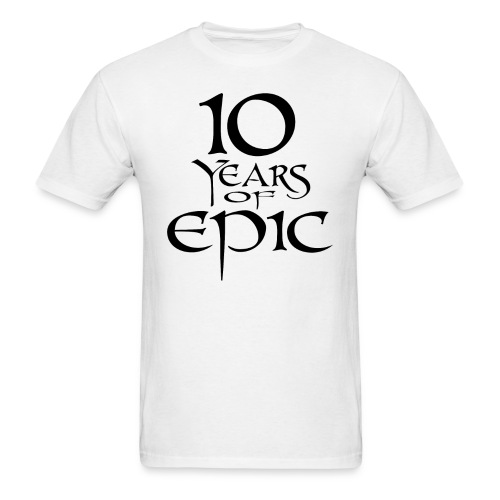 10th Anniversary Shirt - Men's T-Shirt