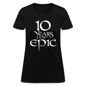 Women's Dark 10th Anniversary Shirt - Women's T-Shirt