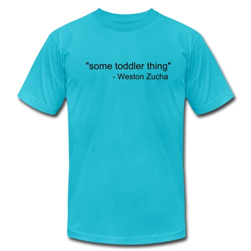 some toddler thing - Men's  Jersey T-Shirt