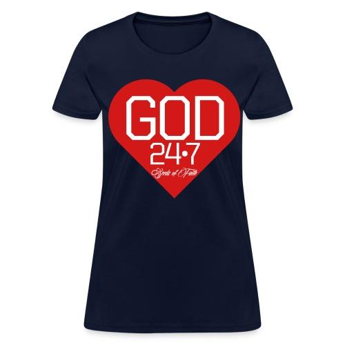 God 24/7 - Womens - Women's T-Shirt