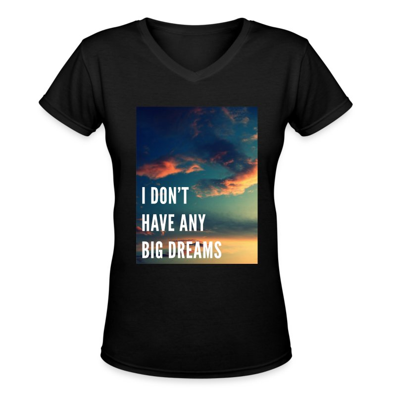 BTS - No Dreams - Women's V-Neck T-Shirt