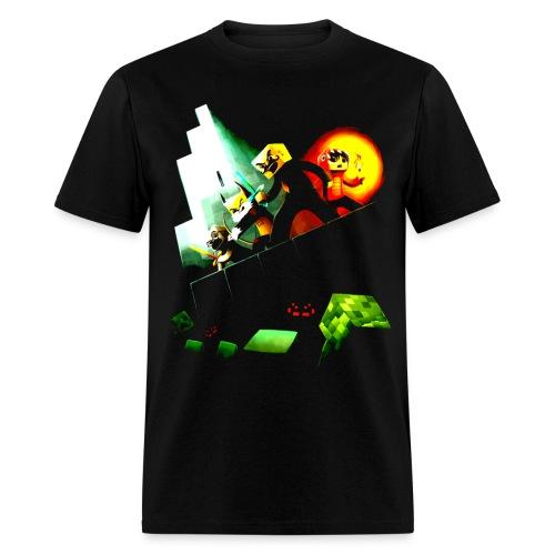 Blocky Peril by eurukatt - Men's T-Shirt