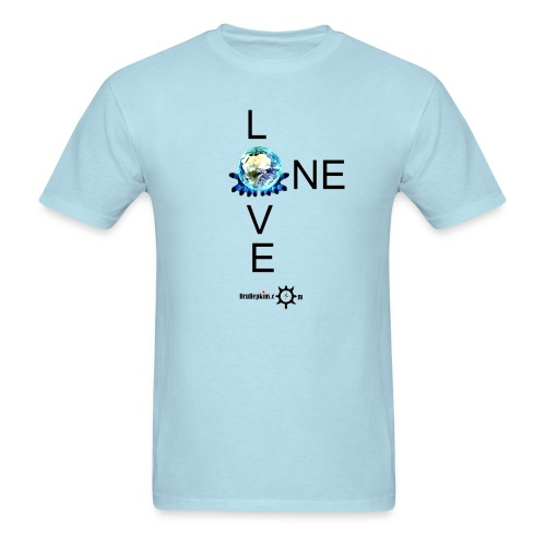 One Love Male - Men's T-Shirt
