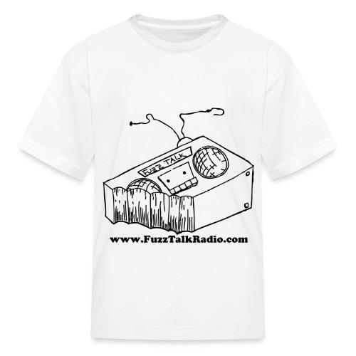 FTR Black Logo w/ Web Address - Kids' T-Shirt