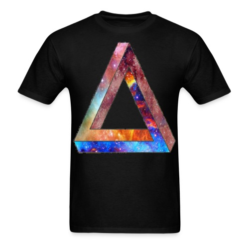 SPACE TRIANGLE - Men's T-Shirt