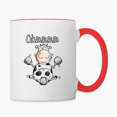 Ohmmmm Cow - Cows Bottles & Mugs