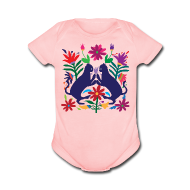 Baby Bodysuits ~ Baby Short Sleeve One Piece ~ Otomi Cats Onesie