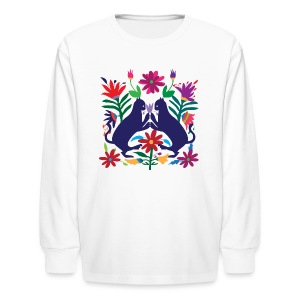 Otomi Cats Kids Long Sleeve Shirt - Kids' Long Sleeve T-Shirt