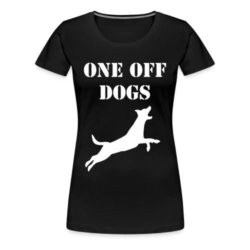 one off dogs - Women's Premium T-Shirt