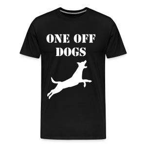 one off dogs - Men's Premium T-Shirt