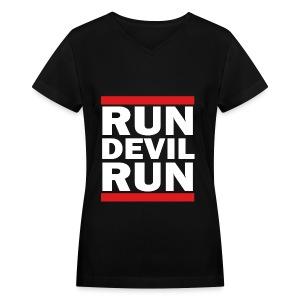 SNSD - Run Devil Run - Women's V-Neck T-Shirt
